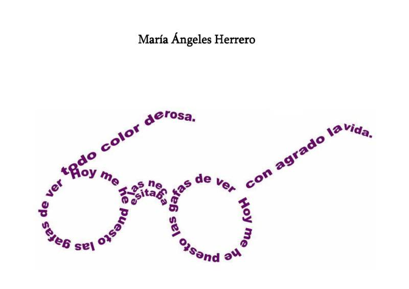 Poemas en caligrama faciles - Imagui
