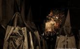 Beso de Judas en procesion