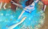 Bailarinas azules (Copia de Degas)