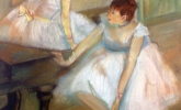 Bailarinas (Copia de Degas)